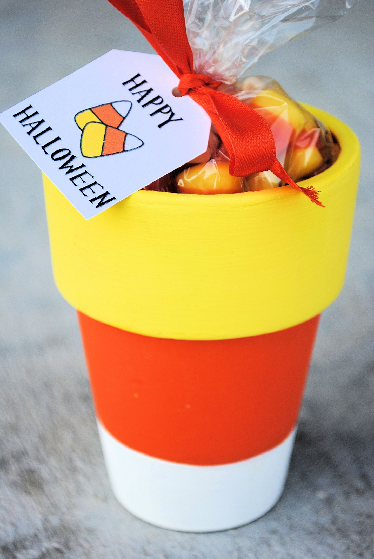 Cute Candy Corn Party Favors