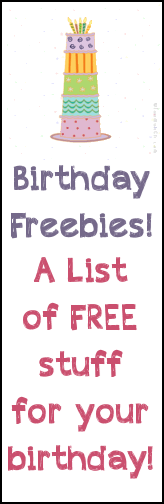 A List of Places to get Free Lunch for your Birthday by CrazyLittleProjects.com #birthday #freebies