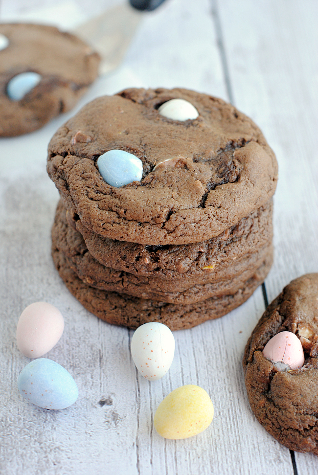 Cadbury Mini Eggs Cookie Recipe