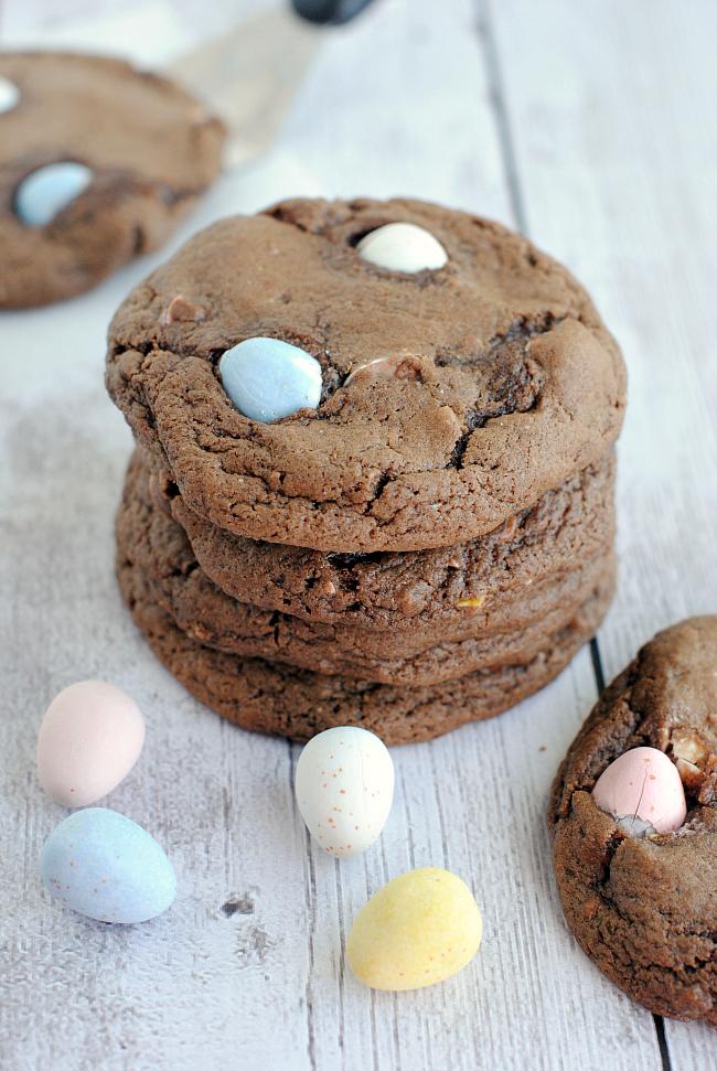 Cadbury Mini Eggs Cookie Recipe