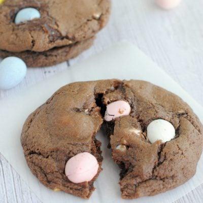 Amazing Cadbury Mini Egg Cookies