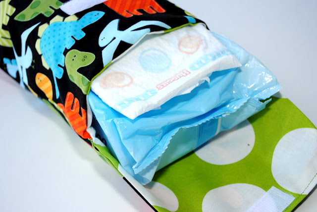 Diaper clutch pattern and tutorial
