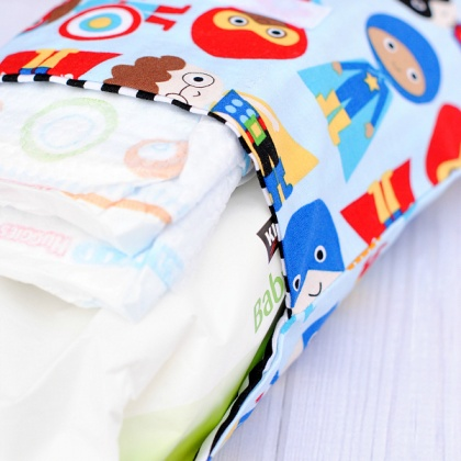 Cute and Easy Diaper Clutch Pattern