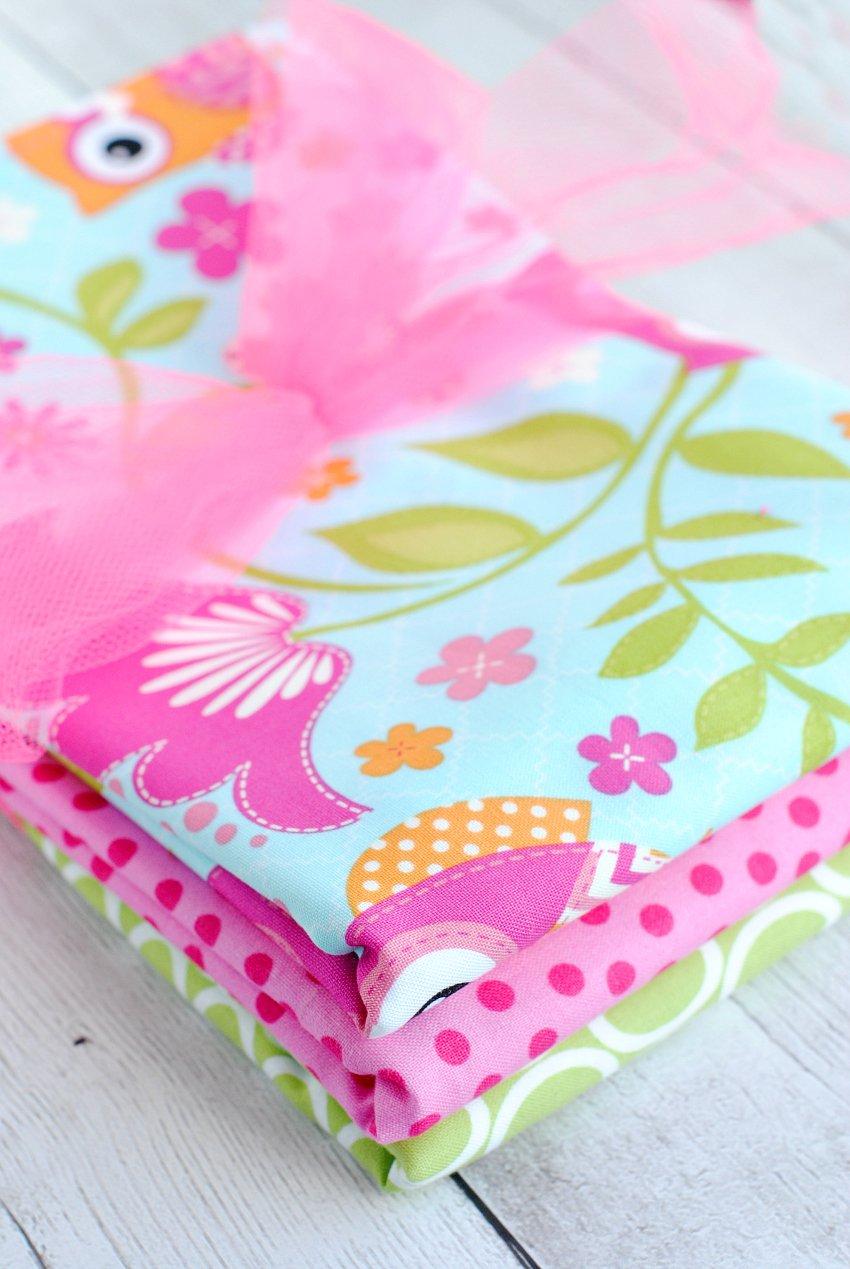 Cute Baby Burp Cloths Gift Idea