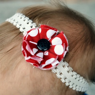 Simple Baby Flower Headband