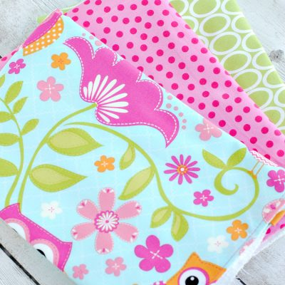 Easy Baby Burp Cloth Pattern and Tutorial