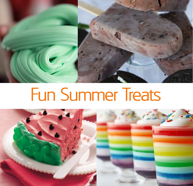 Treat Ideas for Summer with Kids