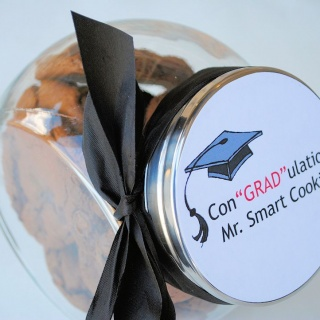 Easy Graduation Gift Idea-Smart Cookie