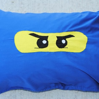 Ninjago Pillow & Basic Pillow Case Tutorial