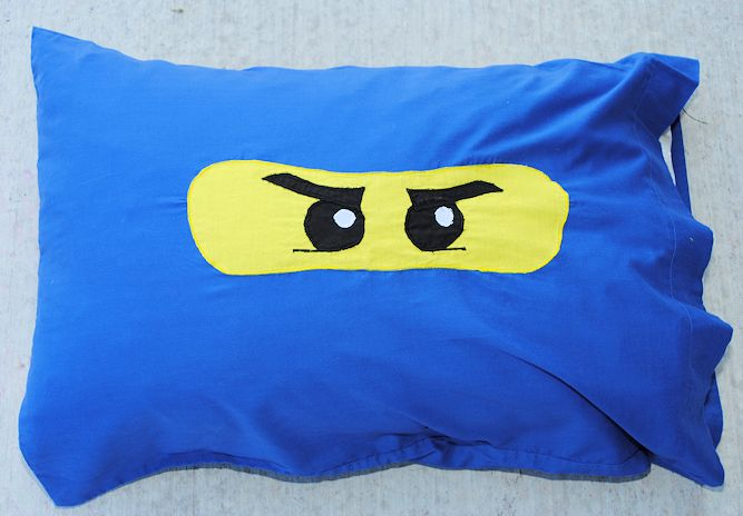 Ninjago Pillowcase Pattern