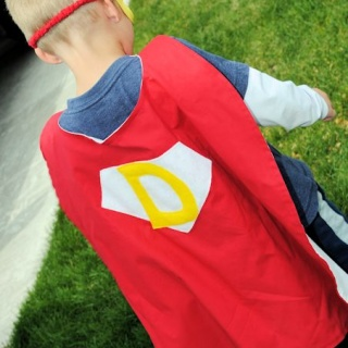 Personalized Superhero Cape Pattern