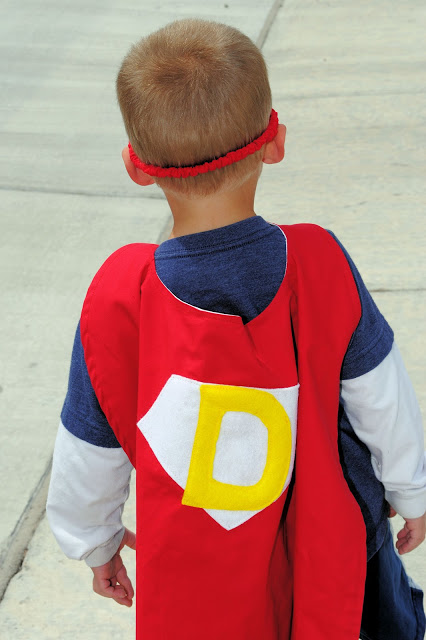 Superhero Cape Pattern for Kids