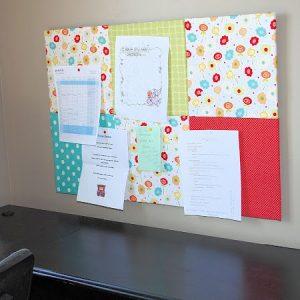 Fabric Bulletin Board Tutorial