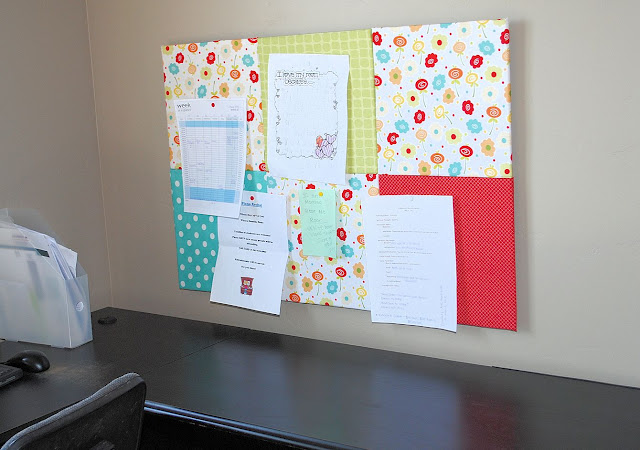 Fabric Bulletin Board Tutorial