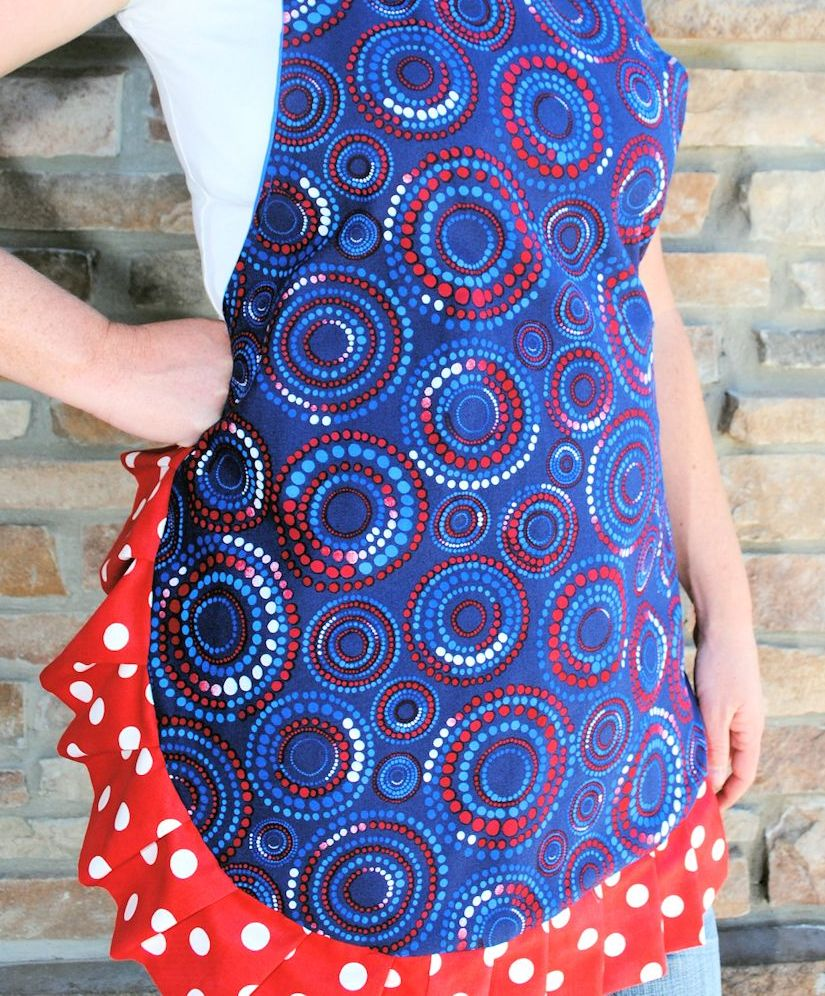 Cute & Flirty Apron Tutorial Ruffle Designs