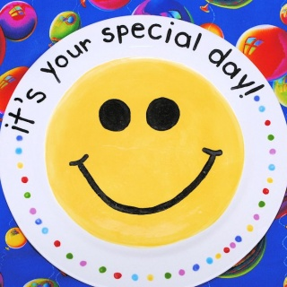 It's Your Special Day Plate