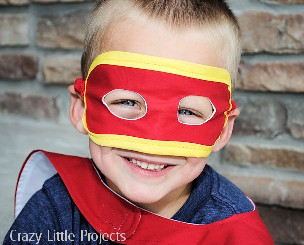 Superhero Mask pattern and tutorial
