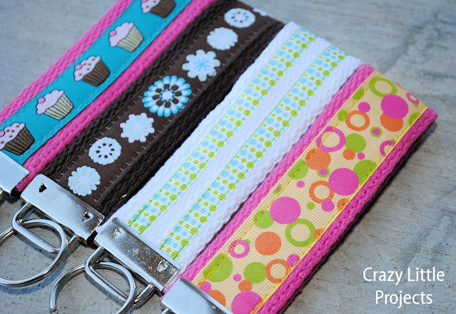 Wristlet Key Fob Tutorial
