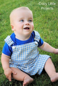 Overalls for Baby Pattern