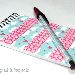 Washi Tape Notebook and Pen Set