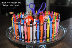 Back to school cake idea