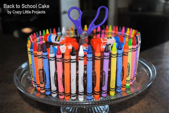 Back to school cake idea