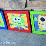 Kid's Monster Bedroom Decor Ideas