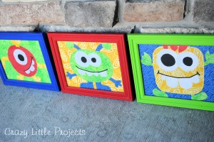 Kid's Monster Bedroom Decor Ideas