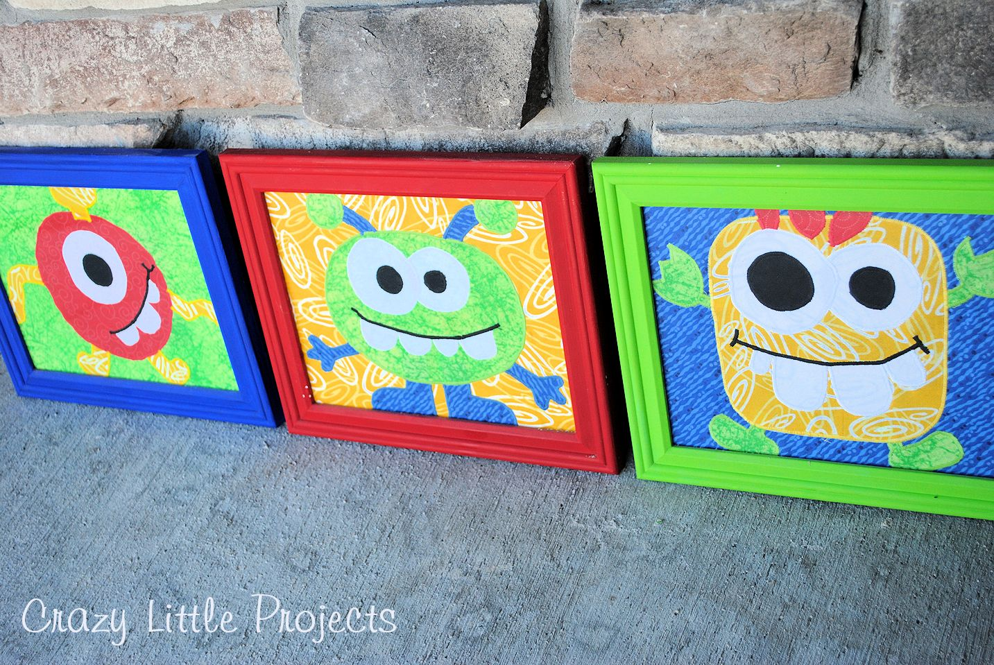 Crazy Craft Ideas For Kids Part - 34: ... Crazy Little Projects: Monster Pictures