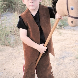 Kid's Cowboy Costume Tutorial