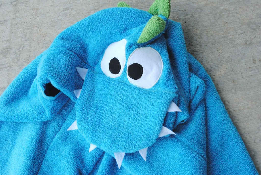 Dragon Hooded Towel Tutorial Crazy Little Projects