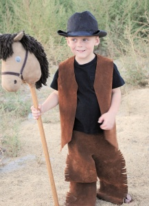 Kids Cowboy Costume Pattern