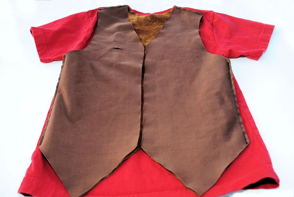 Kid's Cowboy Vest Pattern