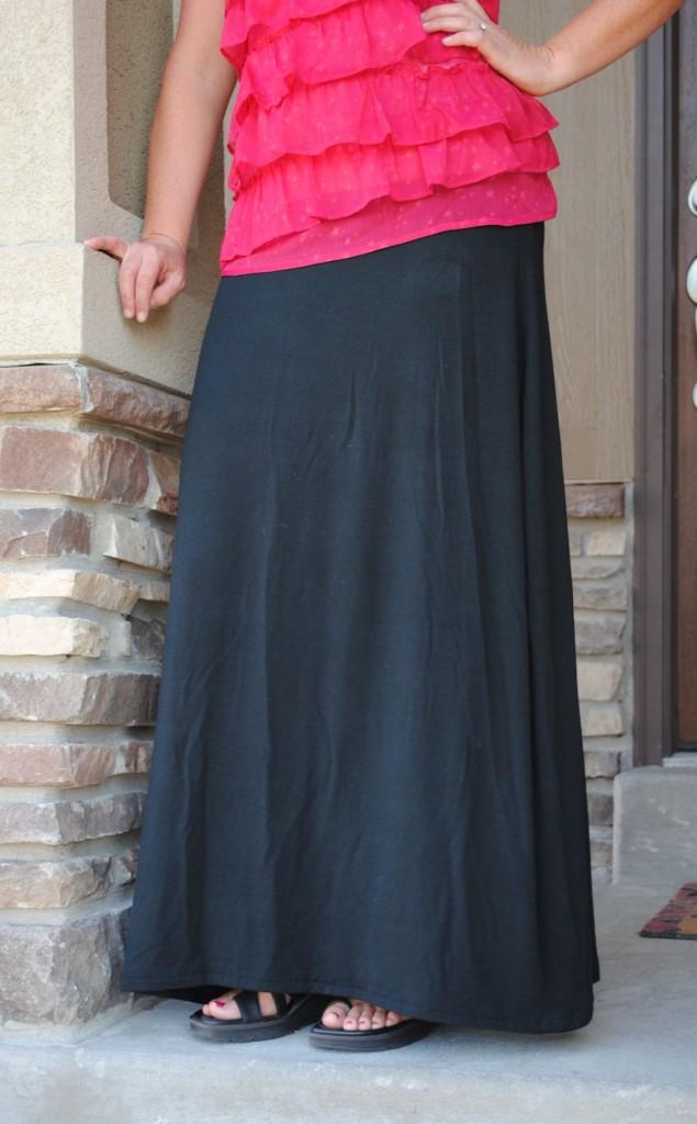 Free Maxi Skirt Pattern