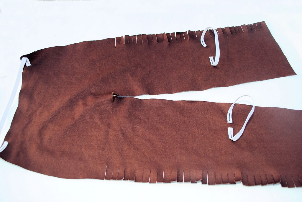 Kid's Cowboy Chaps Pattern and Tutorial