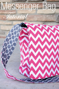 Messenger Bag Tutorial and Pattern by CrazyLittleProjects.com