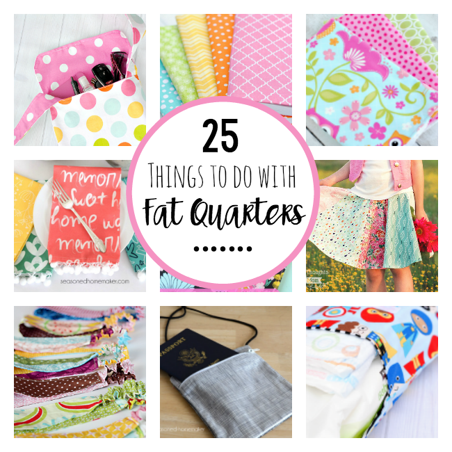 Things to Sew with Fat Quarters
