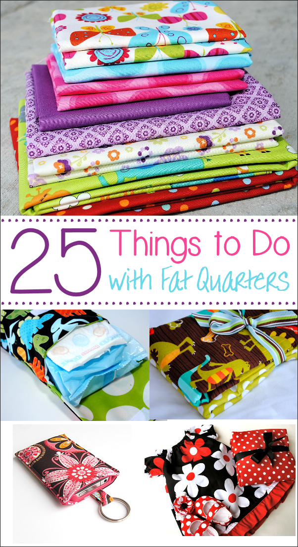 What to do with fat quarters