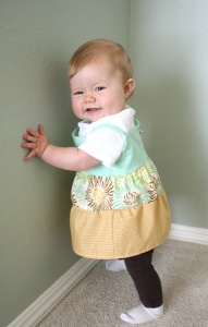 Easy Baby Girl Dress