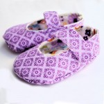 Free baby shoes pattern and tutorial