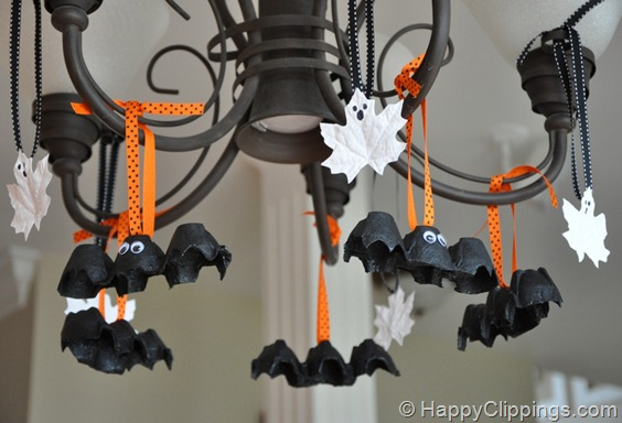 Bats from Egg Cartons