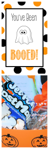 You've Been Booed! is a Fun Halloween Tradition! Free Printable Tags, Ideas and Instructions