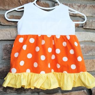 Candy Corn Dress Tutorial