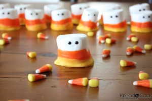 Easy Candy Corn Projects