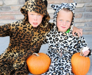 How to make a cheetah or leopard costume