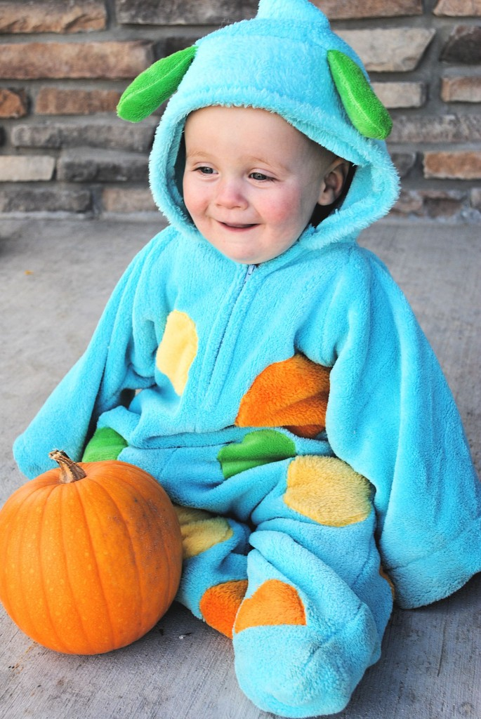 How to make a monster costume for baby