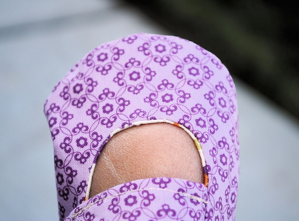 Free baby shoes pattern