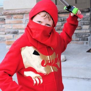 Kids Ninja Costume Pattern