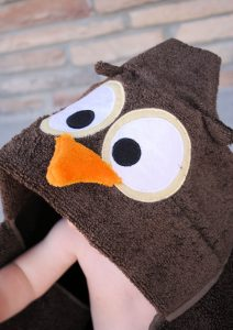 Hooded Towel for Baby or Toddler