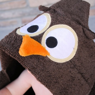 Owl Hooded Towels